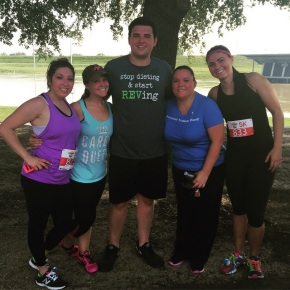 Amanda, Rhett, and Maria joined other from our PTF team for a 5k!
