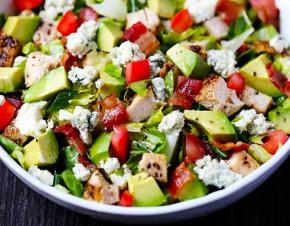 Chicken Bacon Avocado Chopped Salad