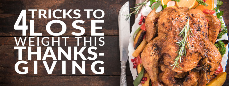 Four tricks to lose weight this thanksgiving